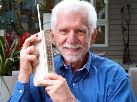 First Phone Ever Invented Cell phone-inventor-martin